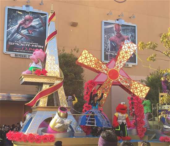 USJ15周年パレード リボーン