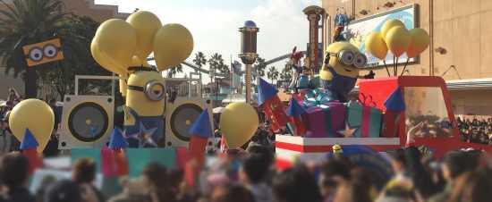 USJ15周年パレード ミニオン