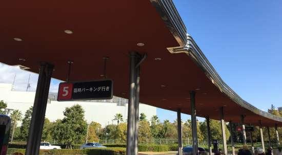 ユニバーサル・スタジオ・ジャパン バス停