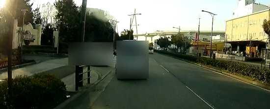 USJ駐車場入口