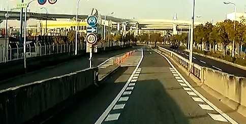 阪神高速ユニバーサルシティ出口