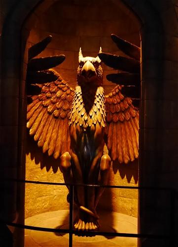 グリフィン グリフィンドールの彫像