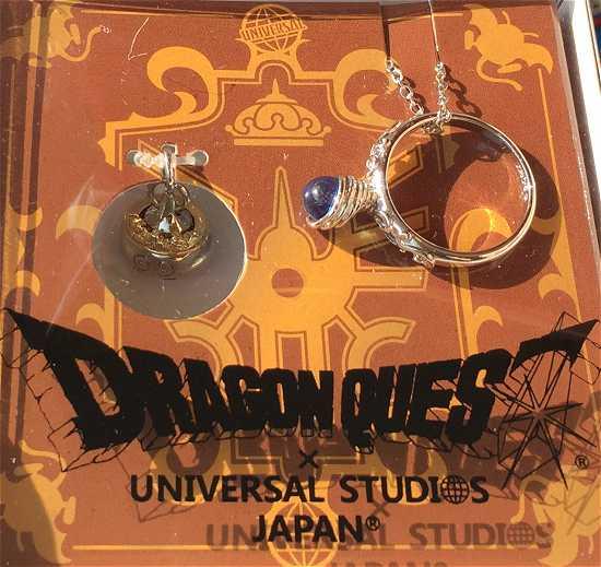 ドラゴンクエスト スライムイヤリング、ネックレス