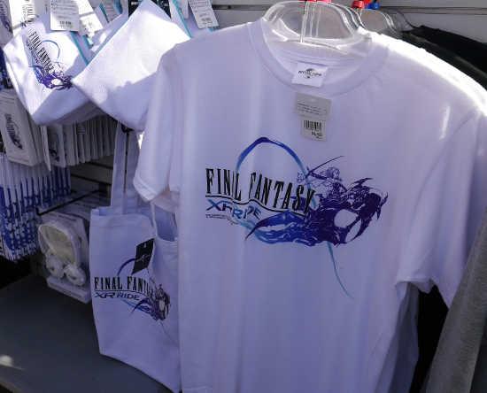 ファイナルファンタジー Tシャツ