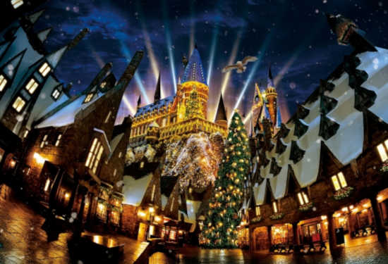 ハリーポッターエリア クリスマス