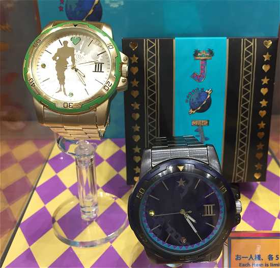 ジョジョの奇妙な冒険 腕時計