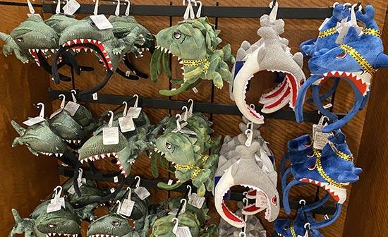 ユニバ恐竜カチューシャ