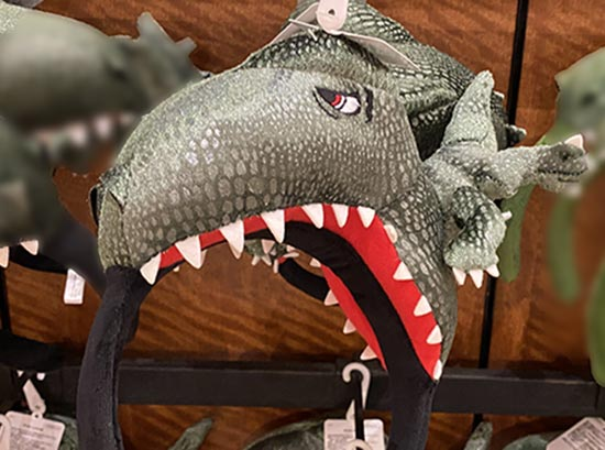 ユニバ 恐竜カチューシャ