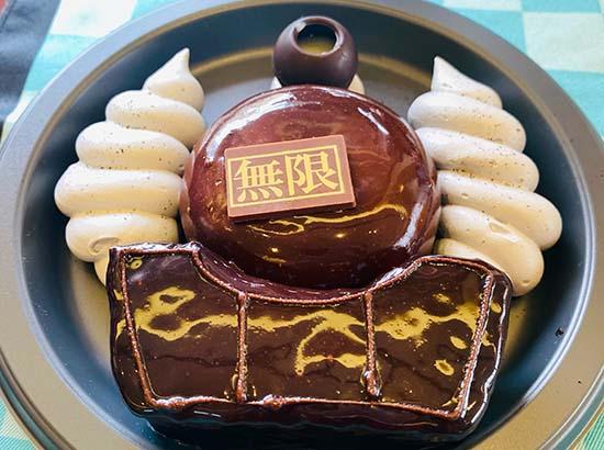 無限列車 チョコレートケーキ