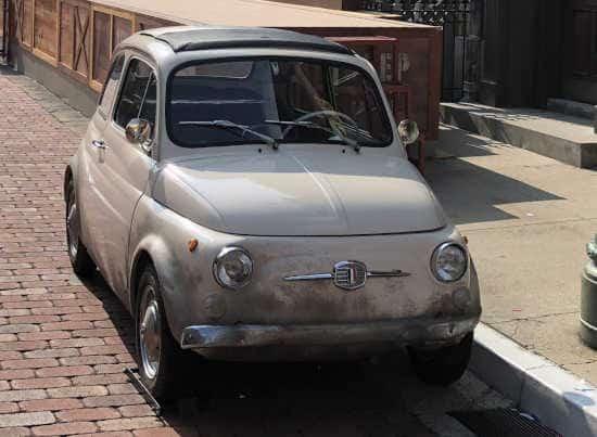 ルパンの愛車 フィアット500