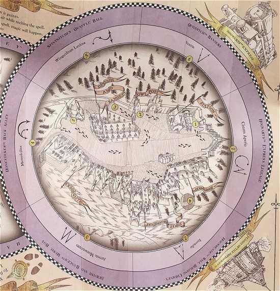 ハリーポッターお土産 地図