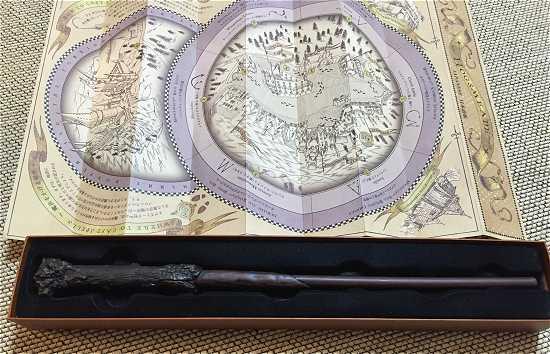 ワンドマジック 杖の箱と魔法の地図