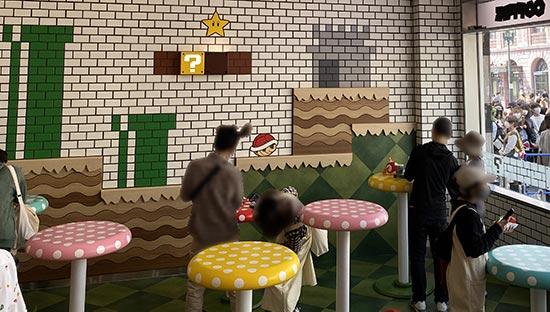 スーパーマリオ カフェスペース