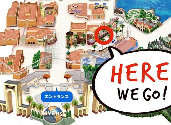 マリオカフェ&ストアの地図