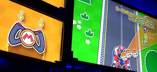 マリオカート ボタンを押して投げる