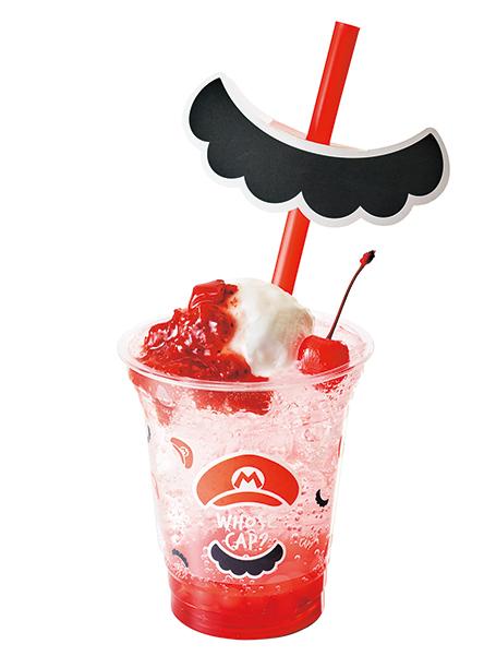 マリオのいちごクリームソーダ