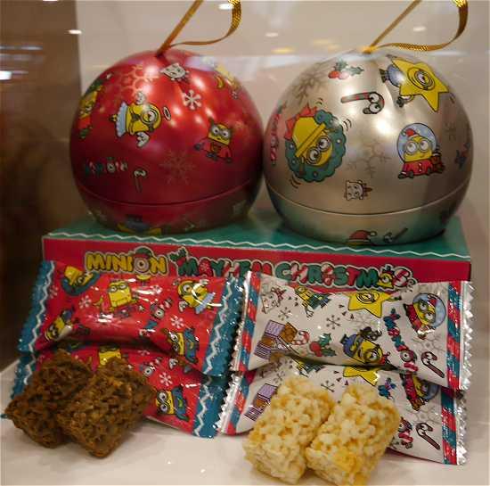 ミニオンクリスマスのお菓子