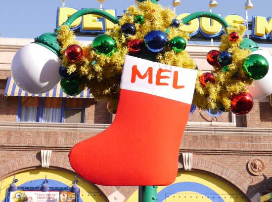 ミニオン クリスマス サンタ靴下