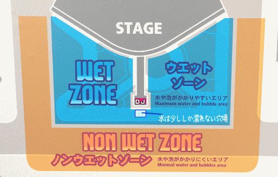 サマーナイト・パーティ 鑑賞エリアマップ