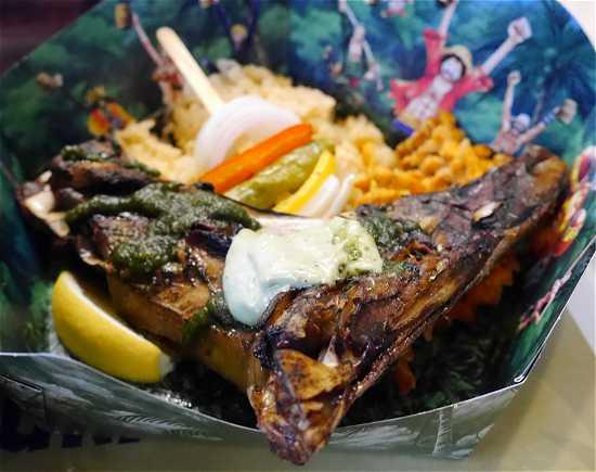 麦わら一味レストラン 魚料理