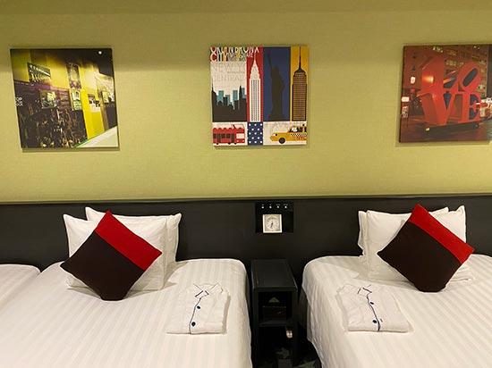 パークフロントホテル アメリカの絵画