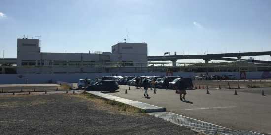 USJ臨時駐車場 第2駐車場