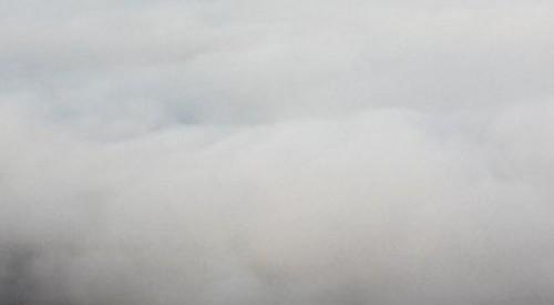 貞子 濃い白い霧
