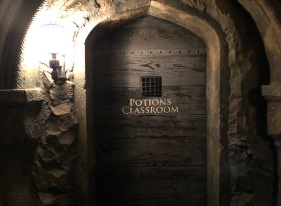ハリーポッター 魔法薬学の教室