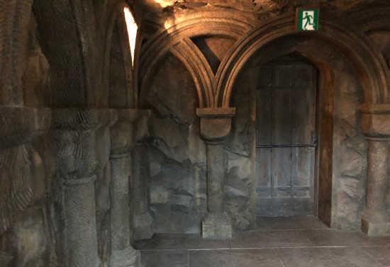 ホグワーツ城のドア