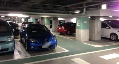USJ駐車場ユニバーサルシティウォーク