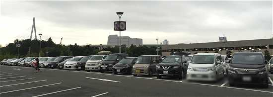 USJ駐車場混雑