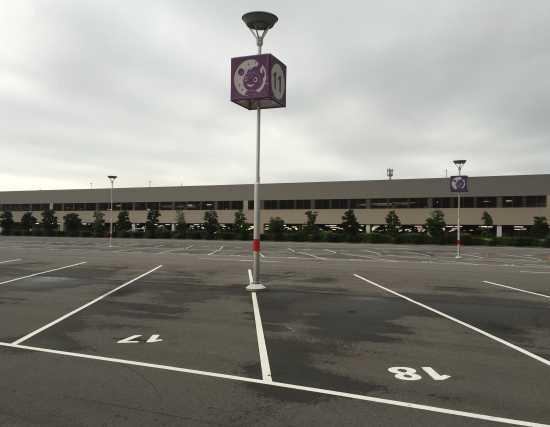 USJ駐車場空き状況