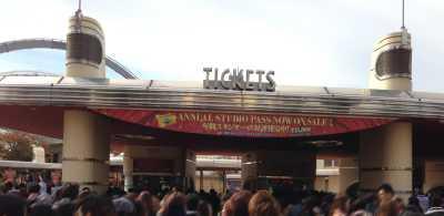 チケット売場の場所
