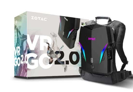 VRGO2.0 バックパックPC