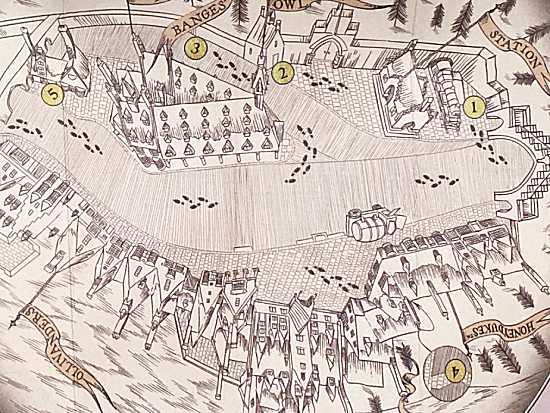 ワンドマジック 魔法の地図
