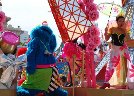 ウォーターパレード クッキーモンスター