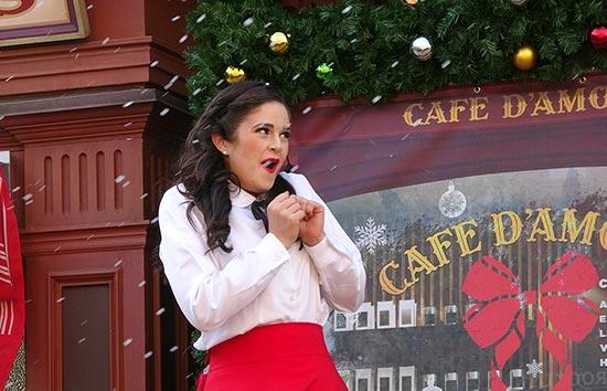 ニューヨーククリスマスウィッシュ 彼女