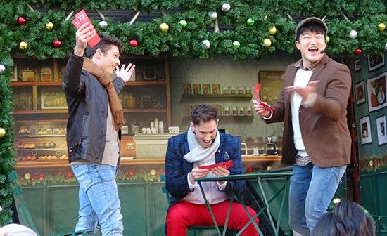 ニューヨーククリスマスウィッシュ 友達