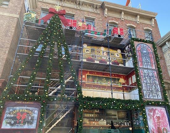 ニューヨーククリスマスウィッシュ ステージ